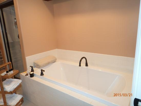 Salisbury Mills, NY: 2 person Jacuzzi tub Storm King room