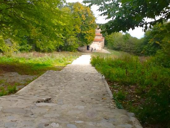 Shuamta Monasteries: Dzveli Shuamta: estradinha