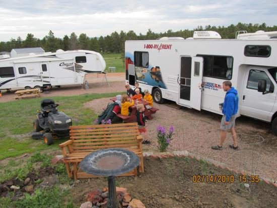 Pine Haven, WY: RV Park