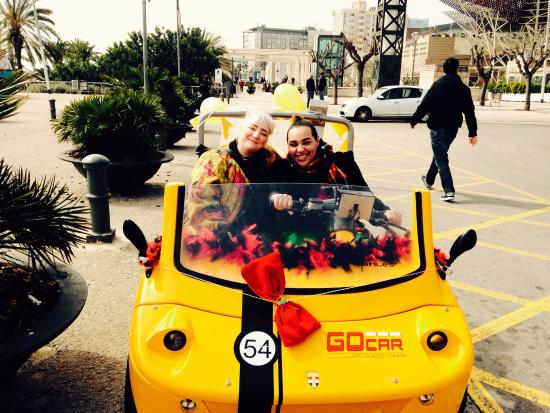 GoCar GPS Guided Tours : At the beach, harbour...