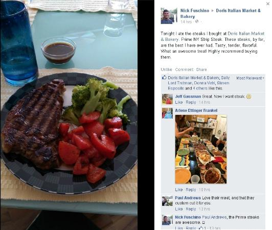 Doris Italian Market: Opinions are subjective, that is why I posted this after receiving 3 stars from someone else.