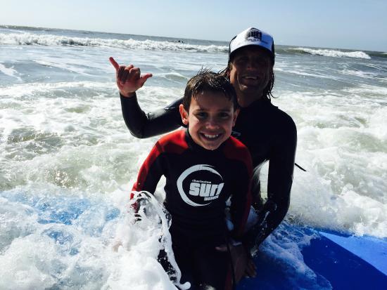 Charleston Surf Lessons: Beginner Surf Lessons with Josh at Charleston Surf