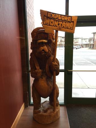Hampton Inn Kalispell: Mascot Montana
