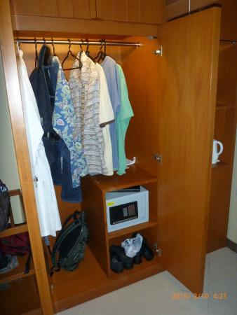 Clothes Locker, w/ safe.