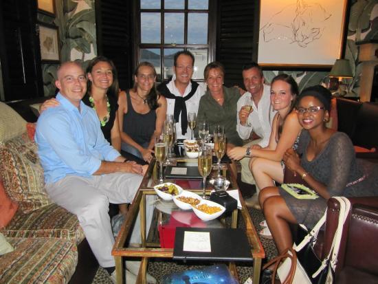 Azure Restaurant: My 50th birthday!