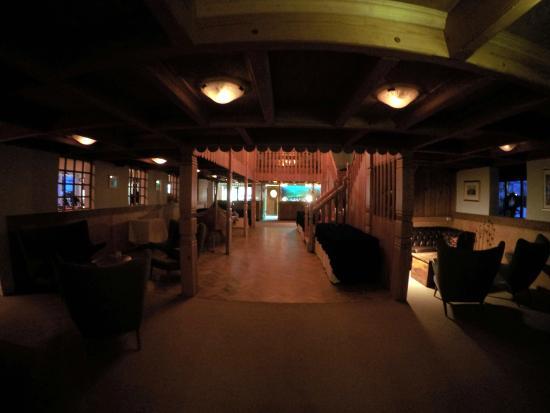 Hotel Geysir: entrée du restaurant