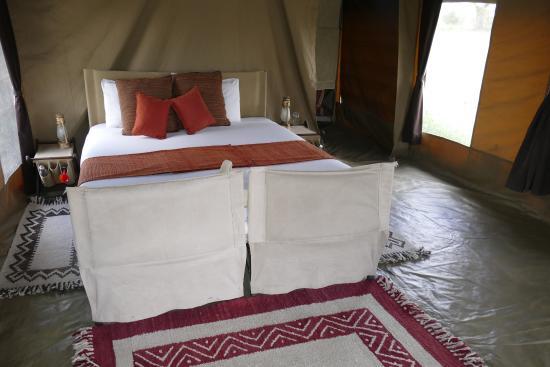 Olakira Camp, Asilia Africa: Die Betten