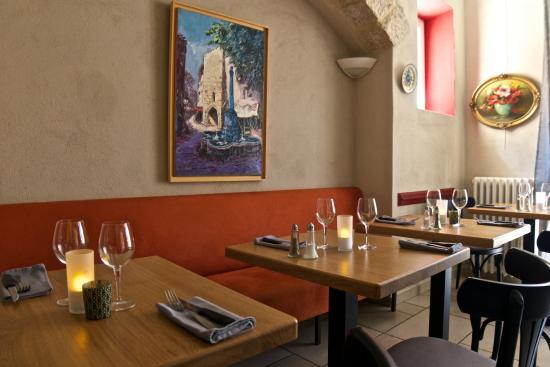 Hotel du Vieux Chateau: Le restaurant