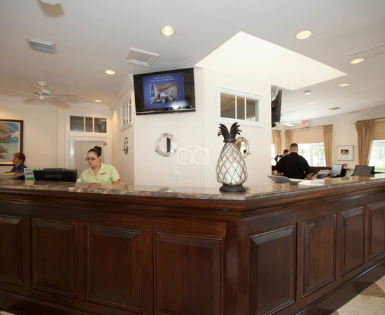 Front Desk at the Southernmost Beach Resort