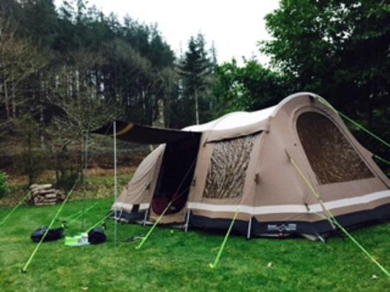 Camping La Pointe : Woods pitch