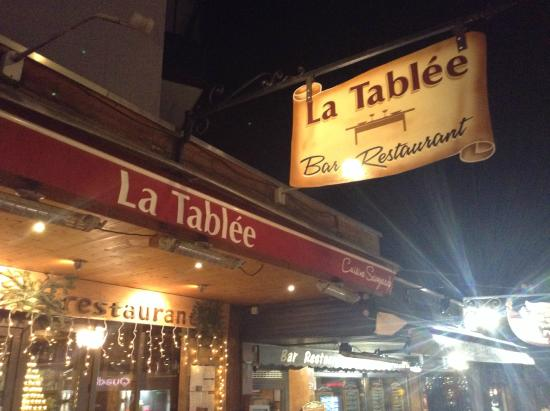 outside of the la tablee photo de restaurant la tabl e chamonix tripadvisor. Black Bedroom Furniture Sets. Home Design Ideas