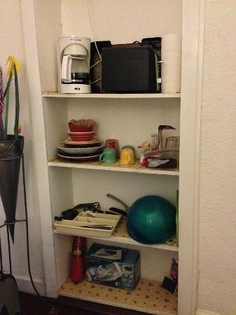 Casa Del Toro Bed & Breakfast: Kitchenette