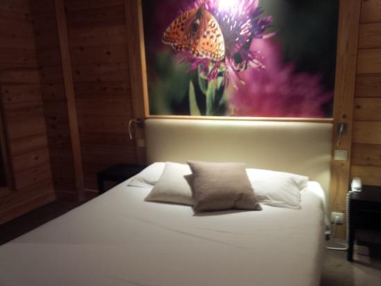 Chalet Hotel Vacca Park : une chambre pleine de charme