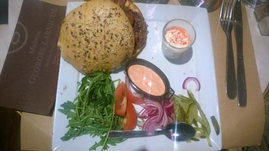 Le Petit Gaveau: Le burger