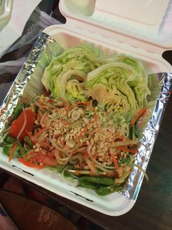 tuks thai kitchen vegan papaya salad - Thai Kitchen Milwaukee