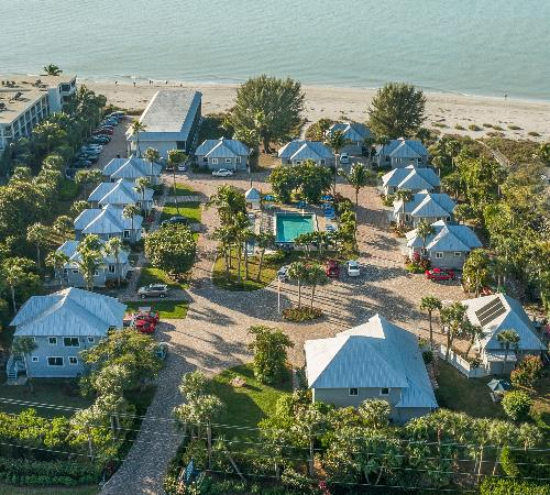 sanibel beachfront accommodations resort a mg waterside inn cottages beach lime cottage the on island