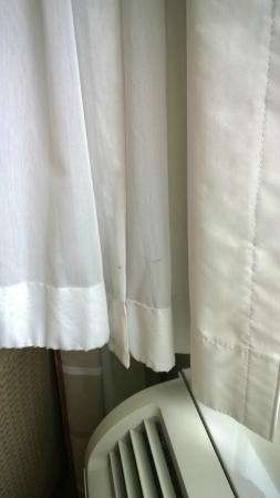 Country Inn & Suites by Radisson, Frackville (Pottsville), PA: The curtains were dirty