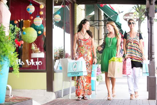 Shopping On Main Street In Downtown Boerne Picture Of