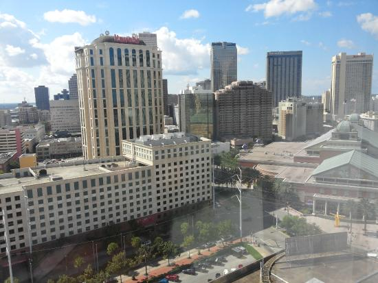 Hilton New Orleans Riverside: City View