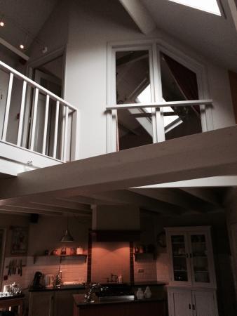 Uitzicht op grote slaapkamer - Picture of Restaurant De Herberg van ...