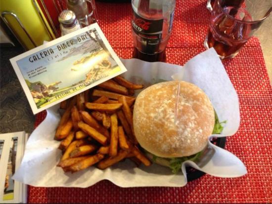 Restaurant Le Mug : Des frites maison :-)