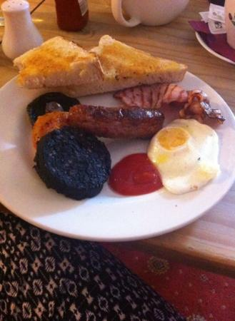 The Rose & Crown: the rose breakfast