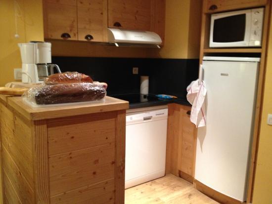Pierre & Vacances Residenz Aconit: coin cuisine
