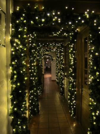 Restaurant Schonegg: Dekoration Weihnachten