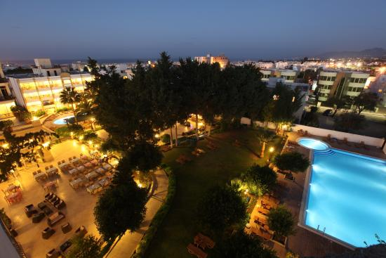 Hotel Pia Bella: View from the top