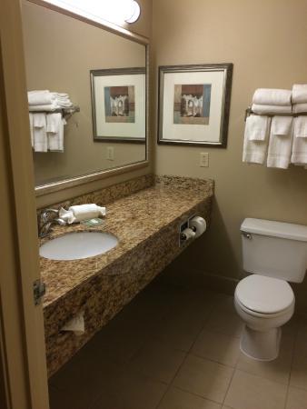 Country Inn & Suites By Carlson, Toledo : Clean bathroom