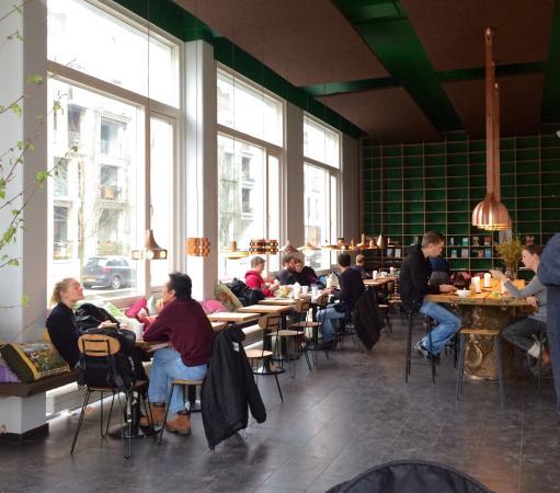 Photo of Restaurant Riccos Kaffebar at Sluseholmen, Copenhagen 2450, Denmark