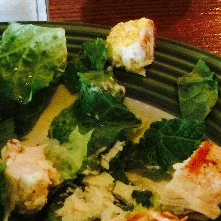 Applebee's: Salad requested without croutons had them in the salad under Parmesan.