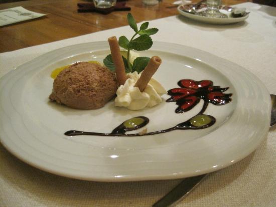 Walliser Spycher: Dessertkunstwerk