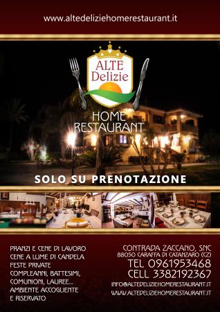 Il primo home restaurant a catanzaro in un ambiente - Home restaurant normativa ...