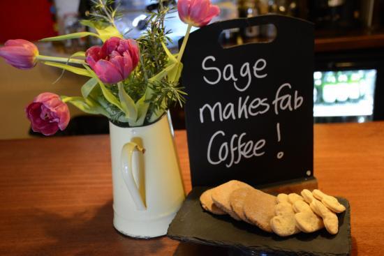 Sage: Coffee, coffee, coffee