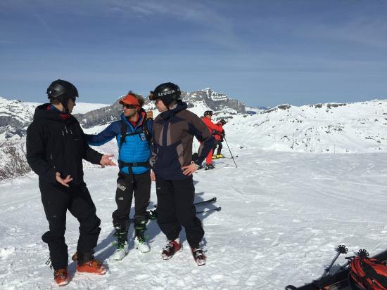 Kailash Adventure : Preparing for Valle Blanche