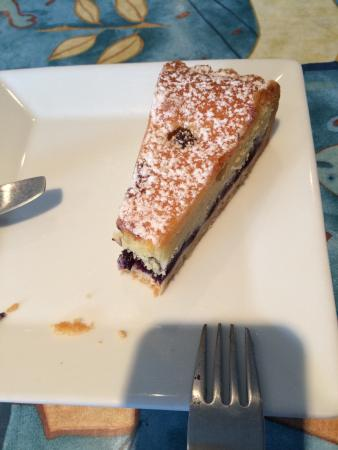Waterfront Cafe: blueberry