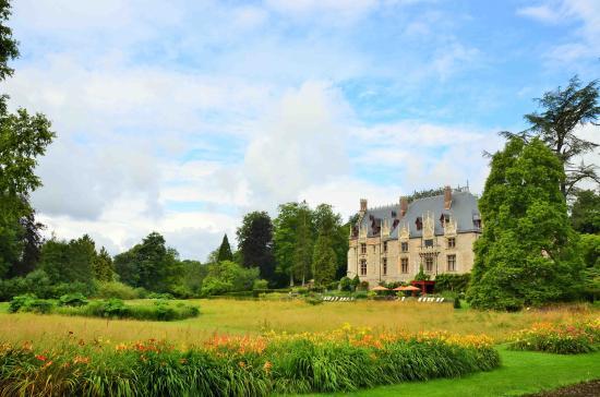 Parc de Cleres: The chateau