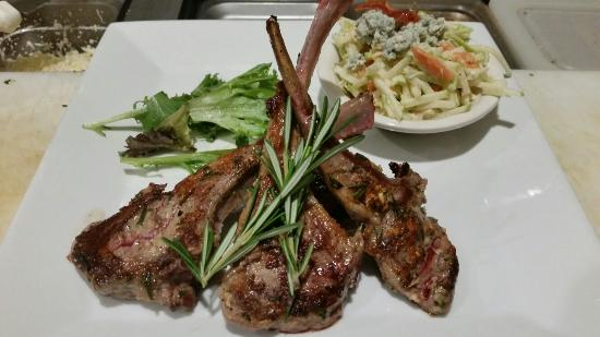Cork & Bottle : Garlic and Rosemary Lamb special!