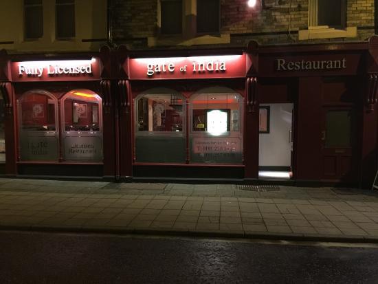 Gate of India Tandoori: Gate of India Restaurant  Tynemouth