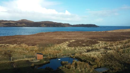 Lochshore House : Morning view from Room 1