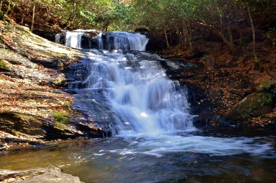 Franklin, Caroline du Nord : Big Laurel Falls