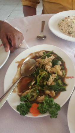 Flower Drum Restaurant: Cuttle fish with Oyster sauce