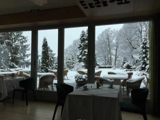 Parkhotel Bellevue: Dining room