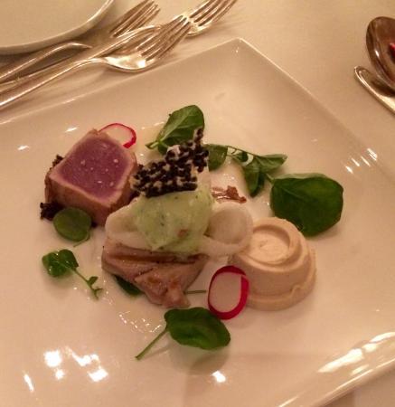 Parkhotel Bellevue: Delicious dinner