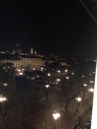 Hotel Andrea: Vista su Firenze dalla camera dell hotel dove abbiamo soggiornato