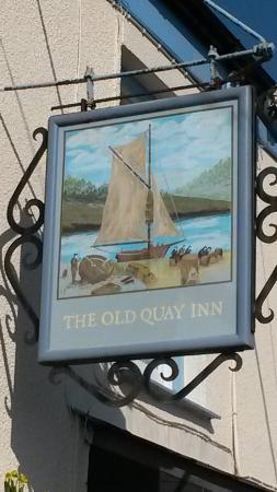 The Old Quay Inn: Gorgeous Pub!