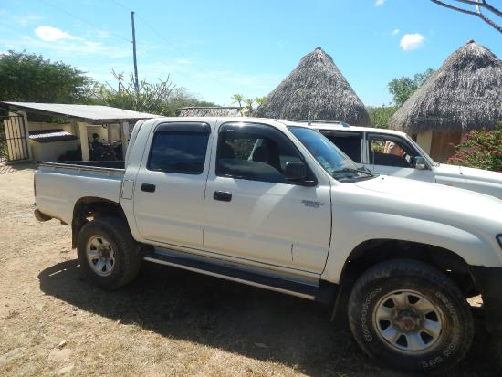 Las Plumerias Lodge and Surf: Transportation for the week