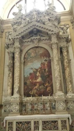 Basilica di Santa Giustina: la pala di Sebastiano Ricci