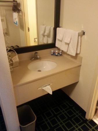 Fairfield Inn & Suites Sandusky: clean